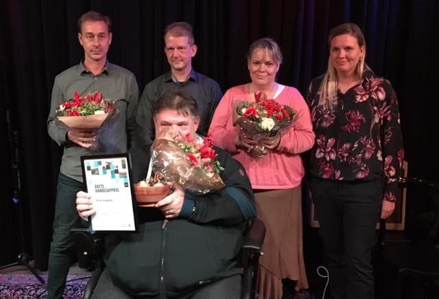 Handicapprisen uddelt for første gang