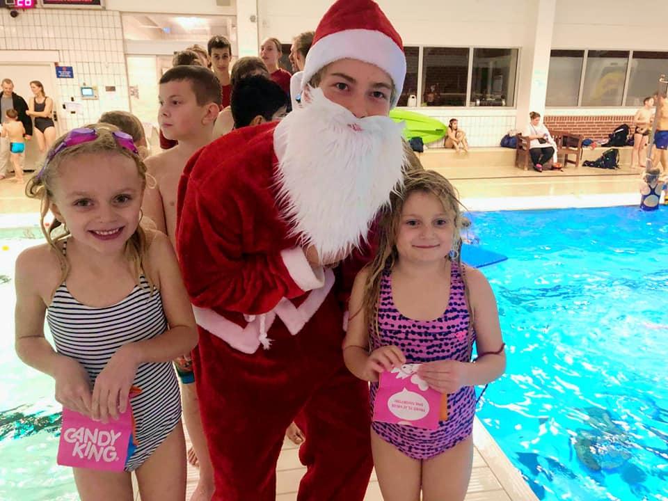 Juleafslutning i svømmeklub