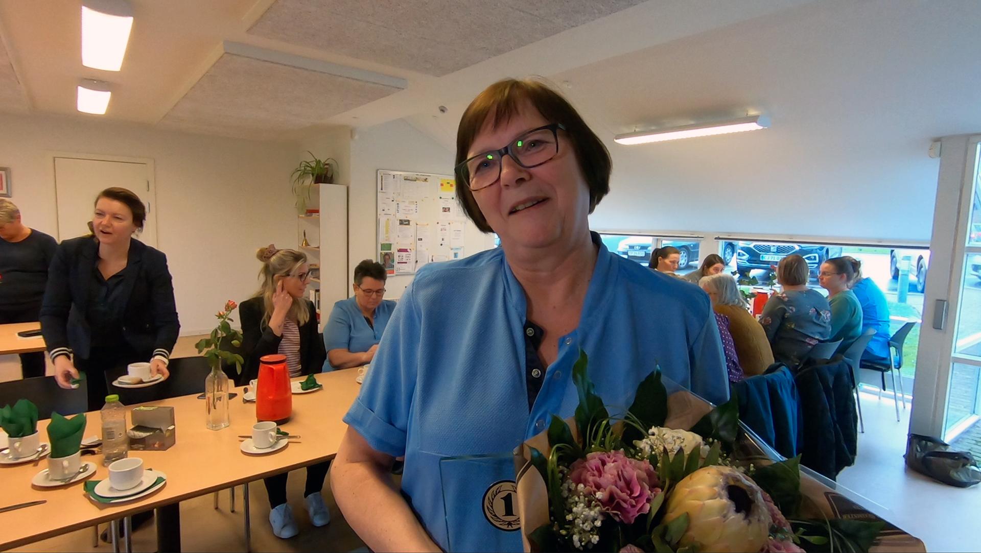 Se tv-indslag: Aase Bentzen er Årets Praktikvejleder