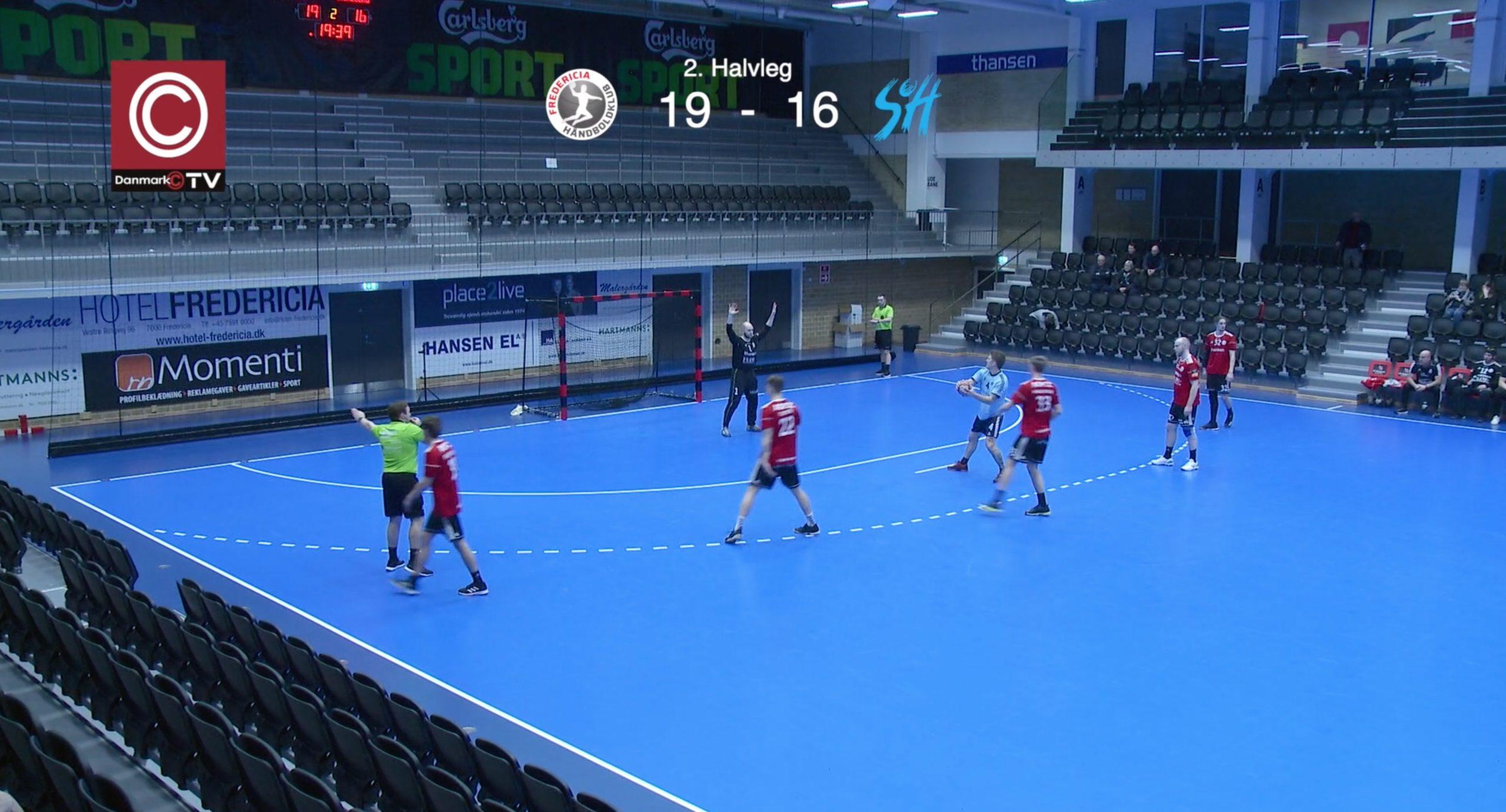 Se håndholdkampen : FHK2 V.s. Svendborg