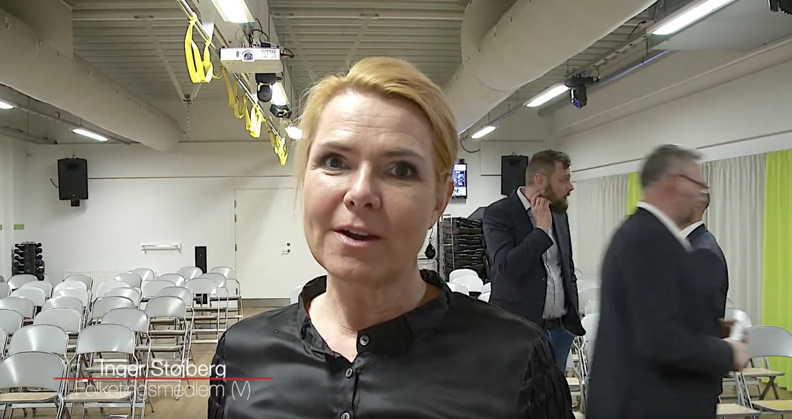 Se tv-indslag: Inger Støjberg satte fokus på det danske politi