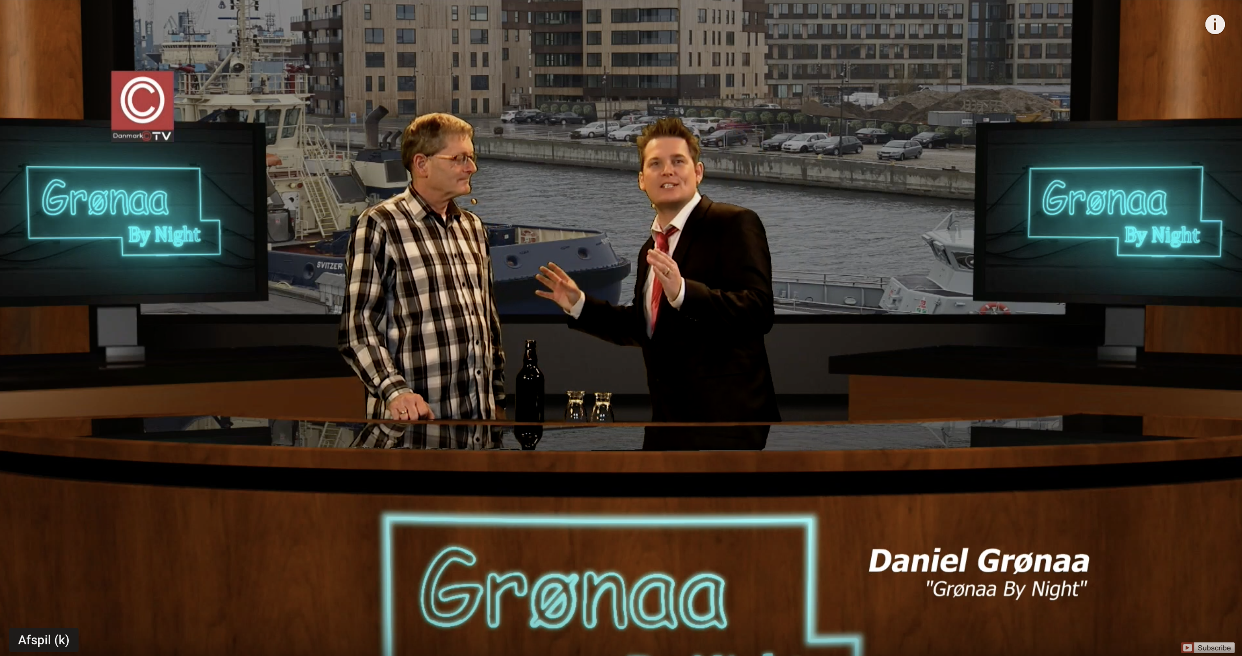 """TALKSHOW: """"Grønaa By Night"""" fik besøg af indehaver af Fredericia Brewpub"""