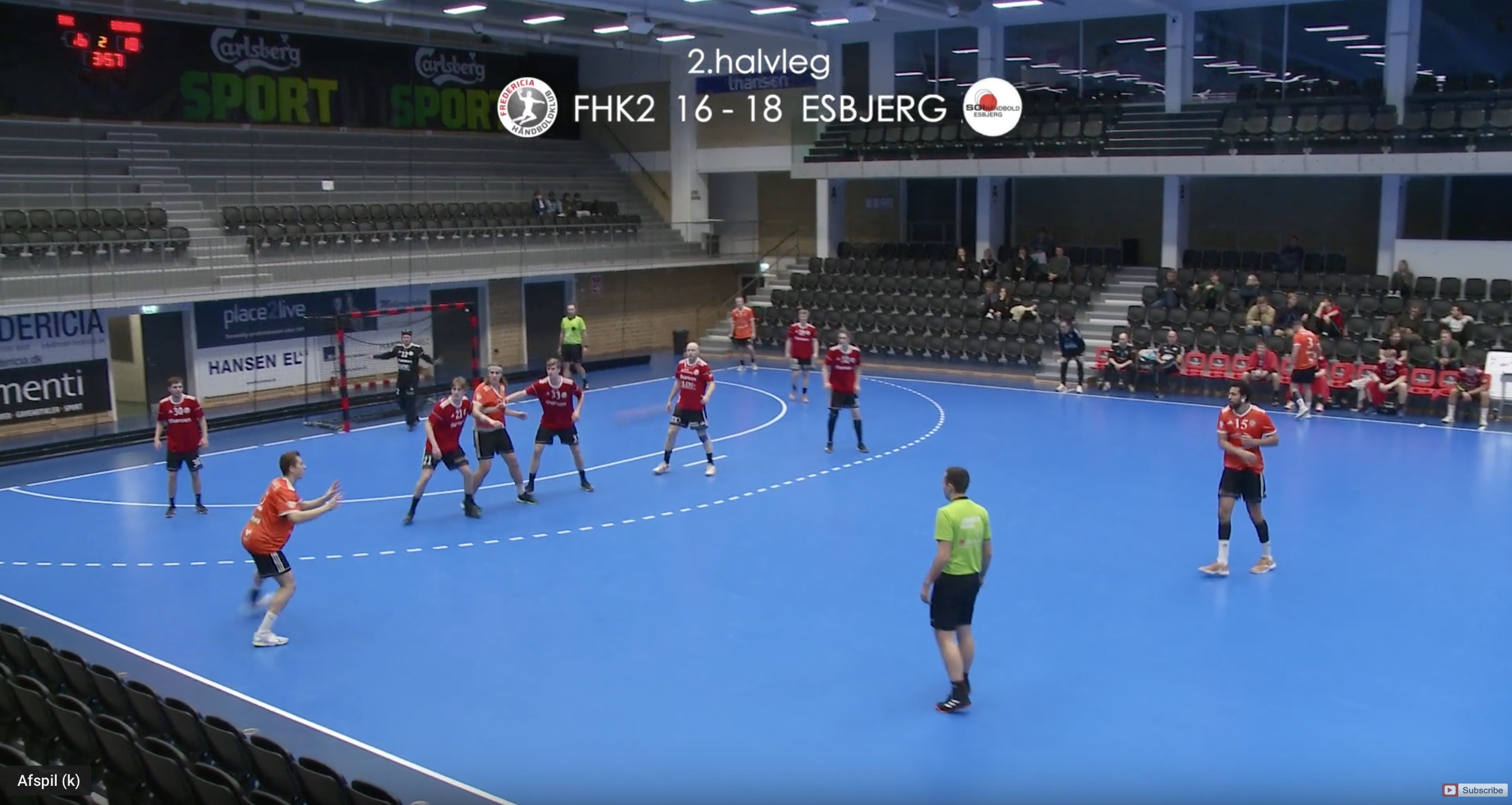 Se håndboldkamp: FHK2 V.s. Esbjerg