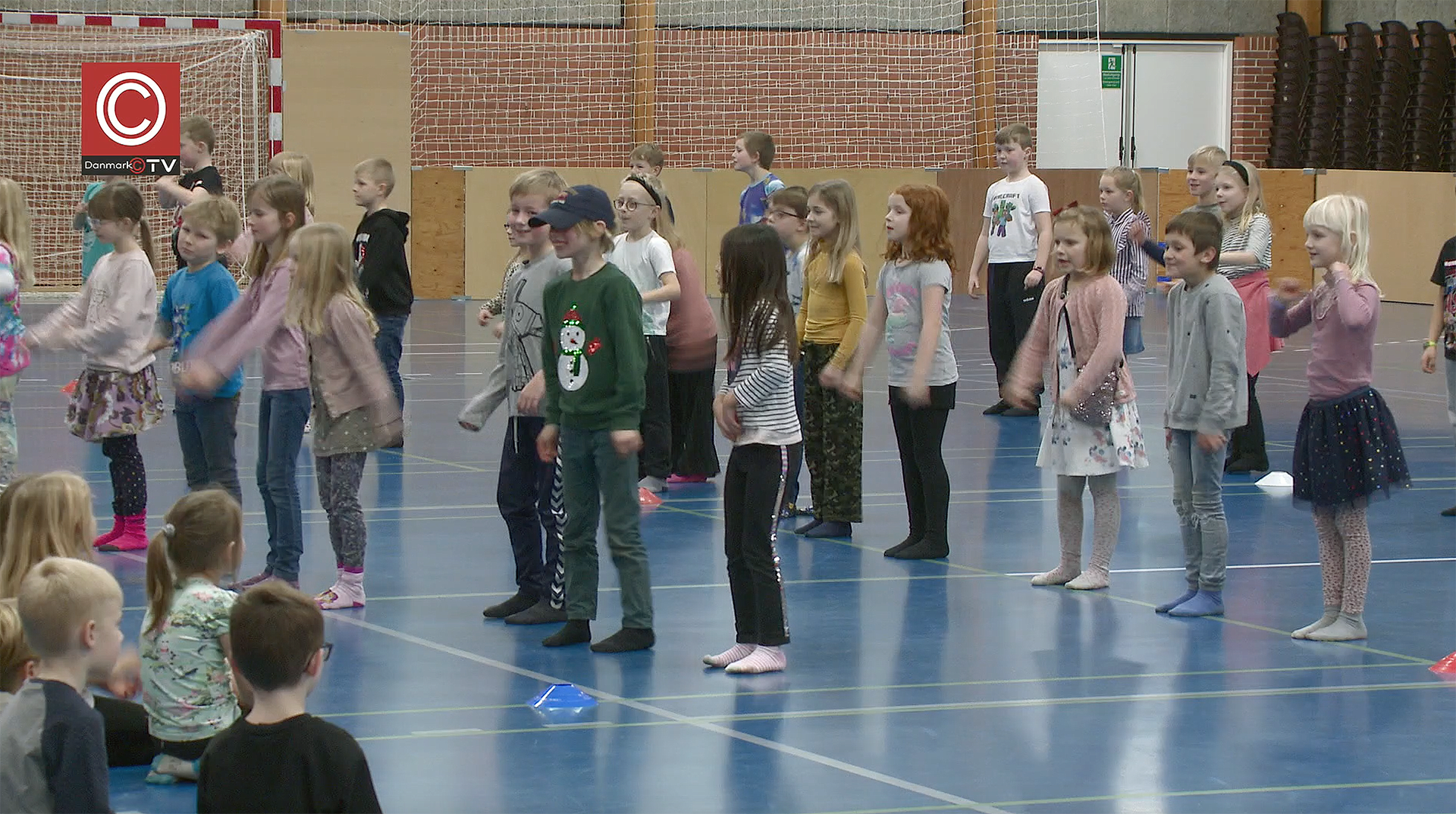 Dansens dag: Ullerupbækskolen dansede ind i vinterferien