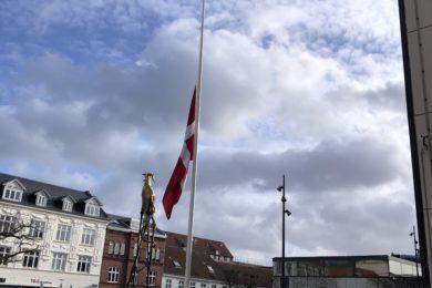 Flag dannebrog dødsfald