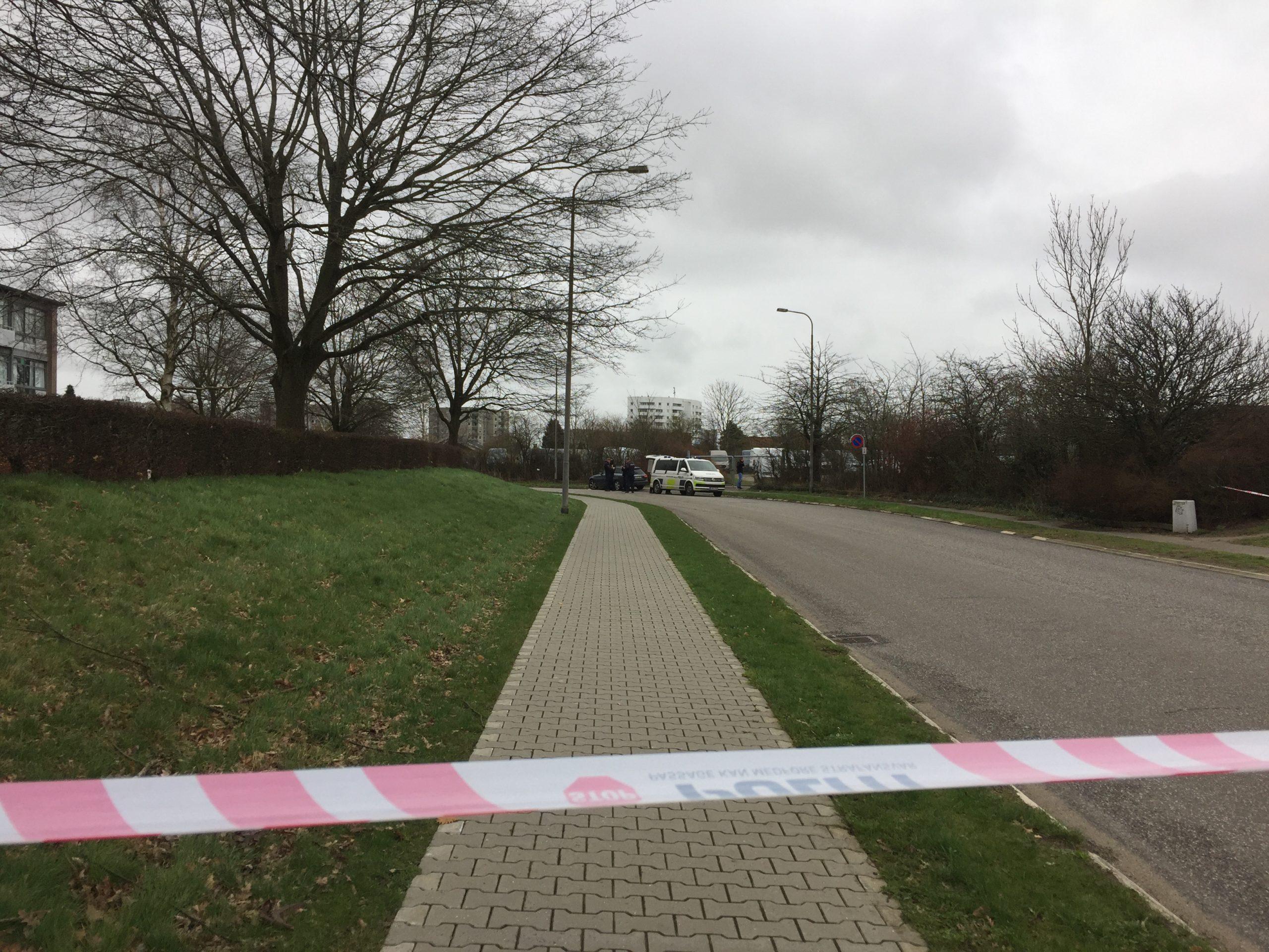 Sydøstjyllands Politi på tryghedsskabende arbejde i Korskærparken