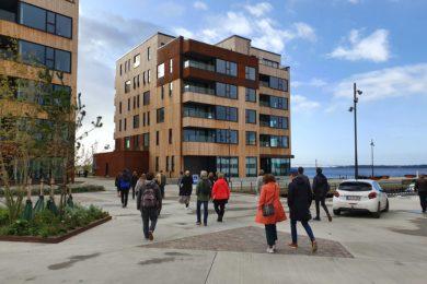 Nye og moderne boliger skyder op i Kanalbyen