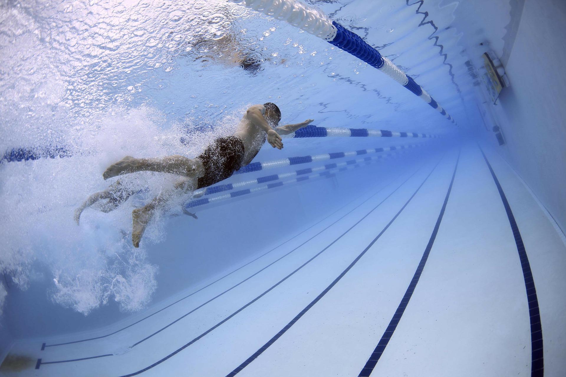 Svømmeklub på træningslejr i Tyrkiet