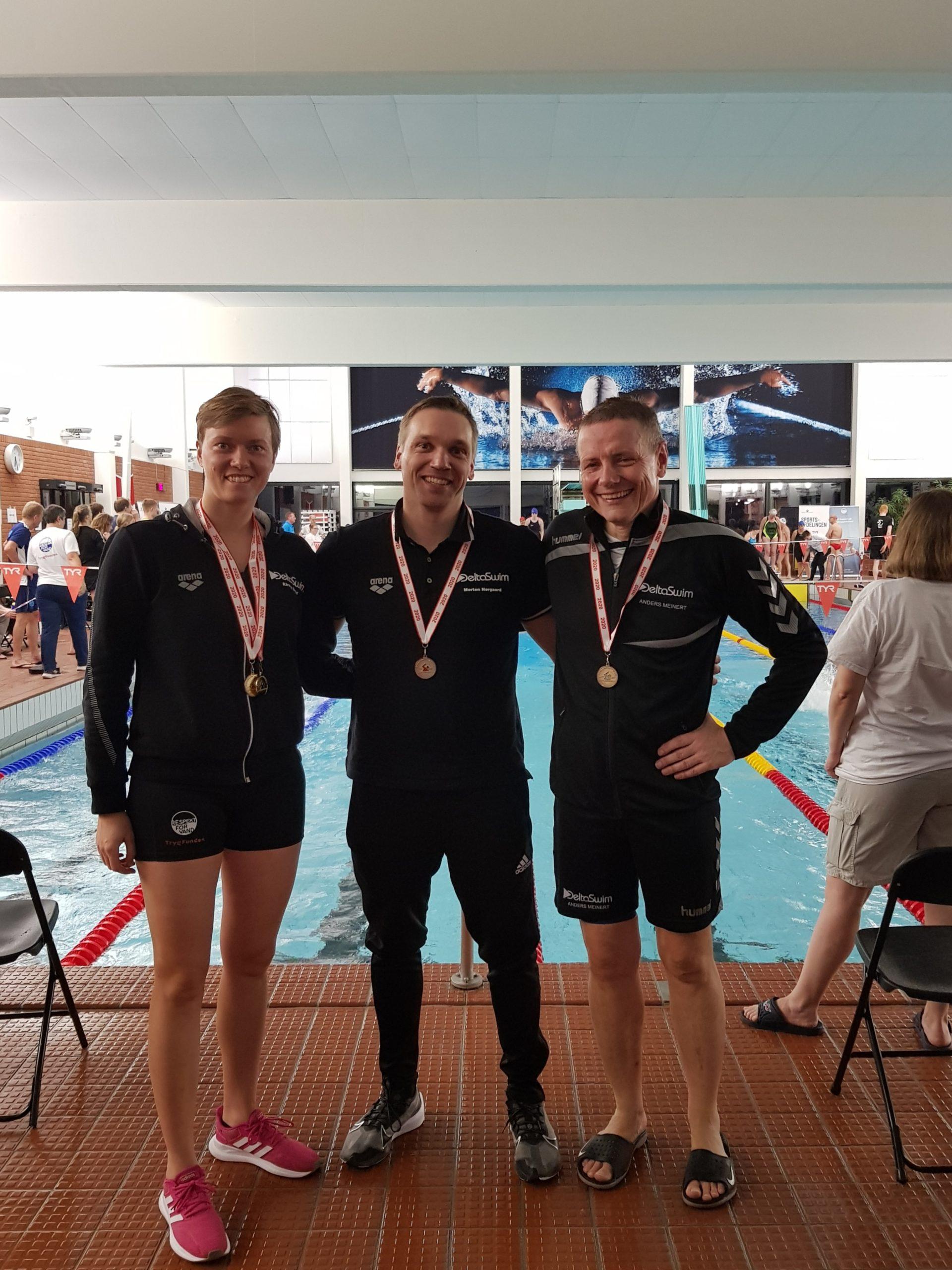 Guldmedaljer til DeltaSwim