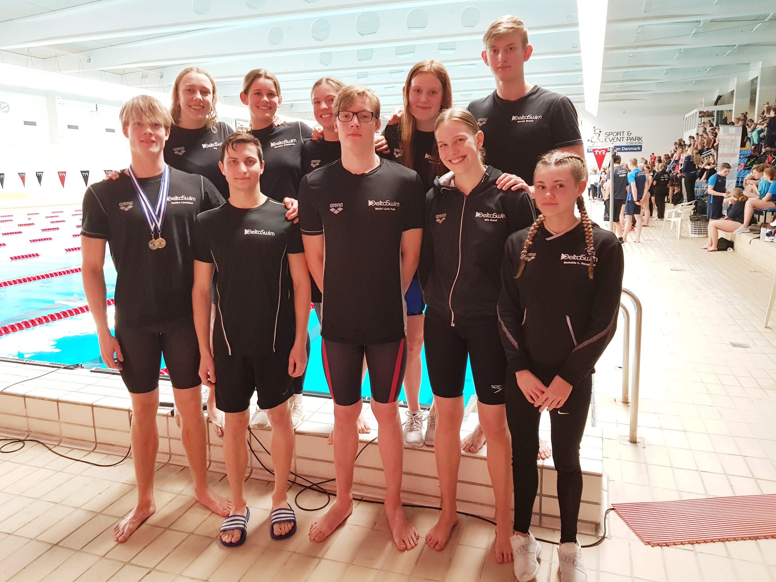 Deltaswim fik medaljer ved Vestdanske Mesterskaber