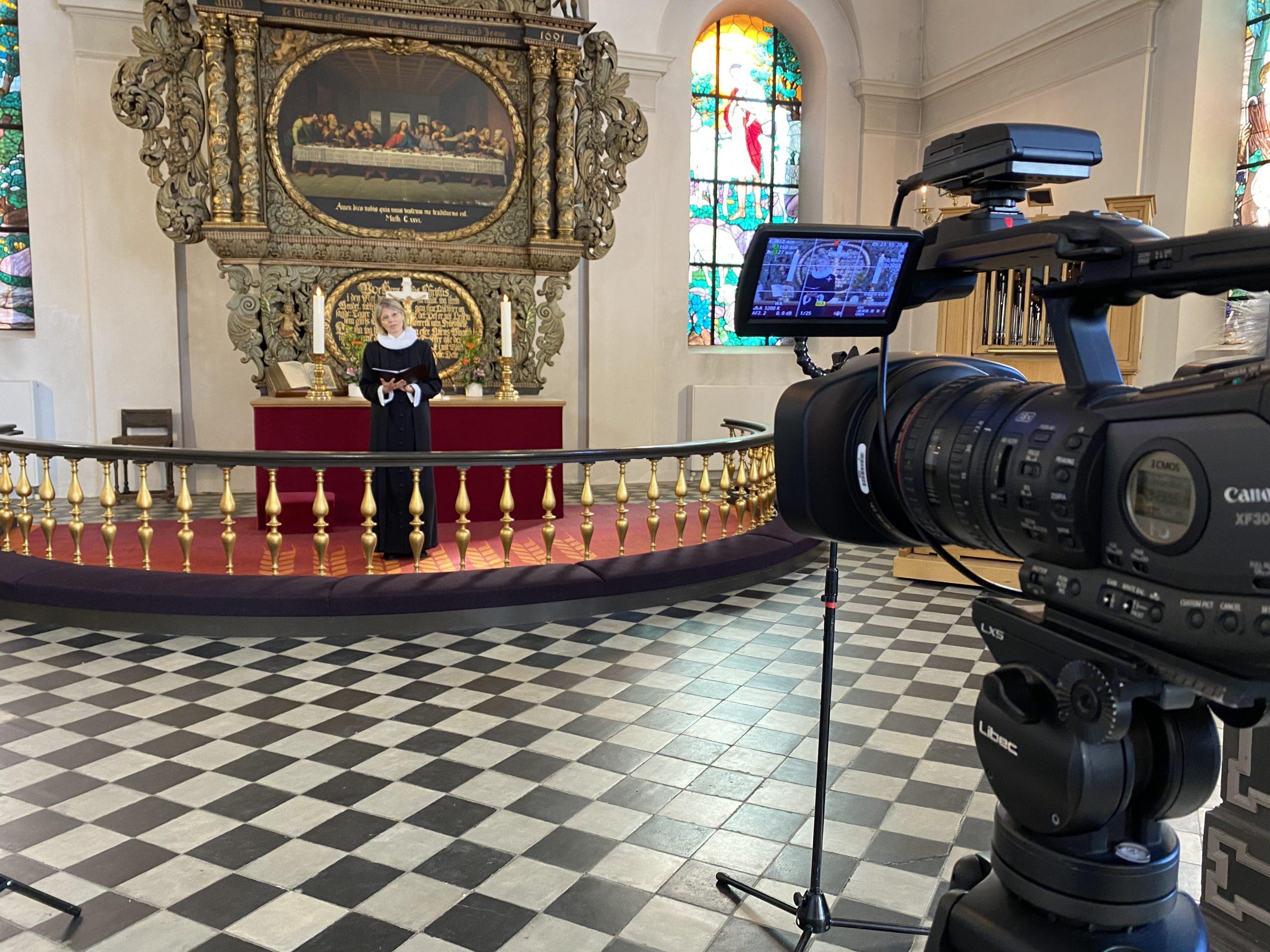 LØRDAG: TV-Gudstjeneste fra Trinitatis Kirke