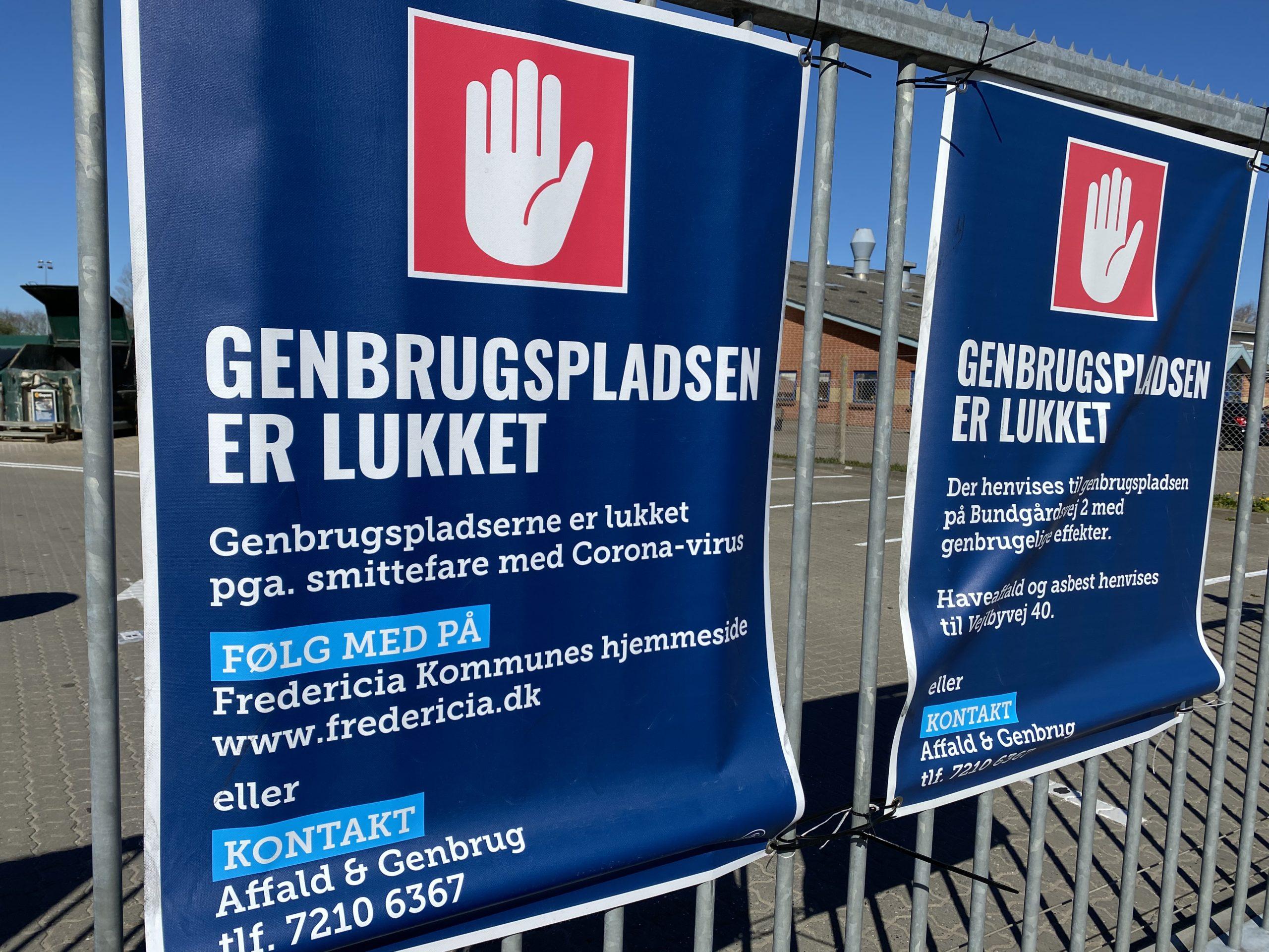 V, DF & K: Genbrugspladsen på Industrivej skal åbnes nu!
