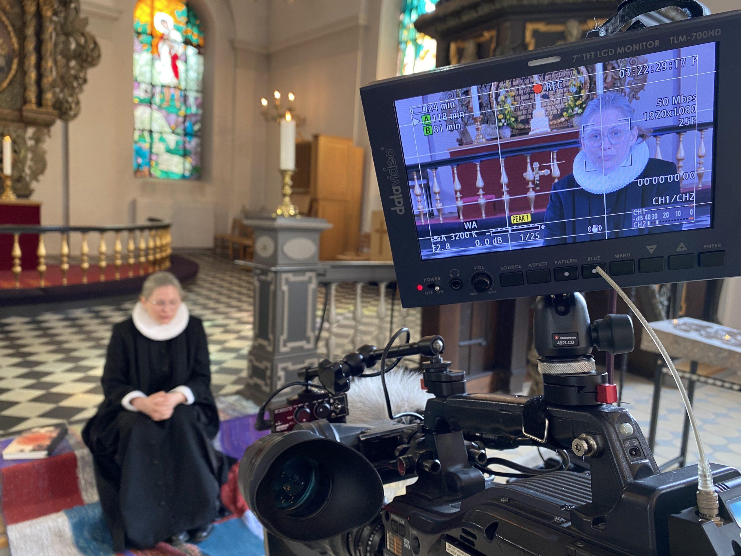Trinitatis Kirke i Fredericia bringer påskefortællinger online