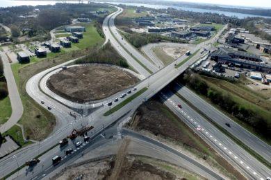 motorvej tilkørsel afhørsel