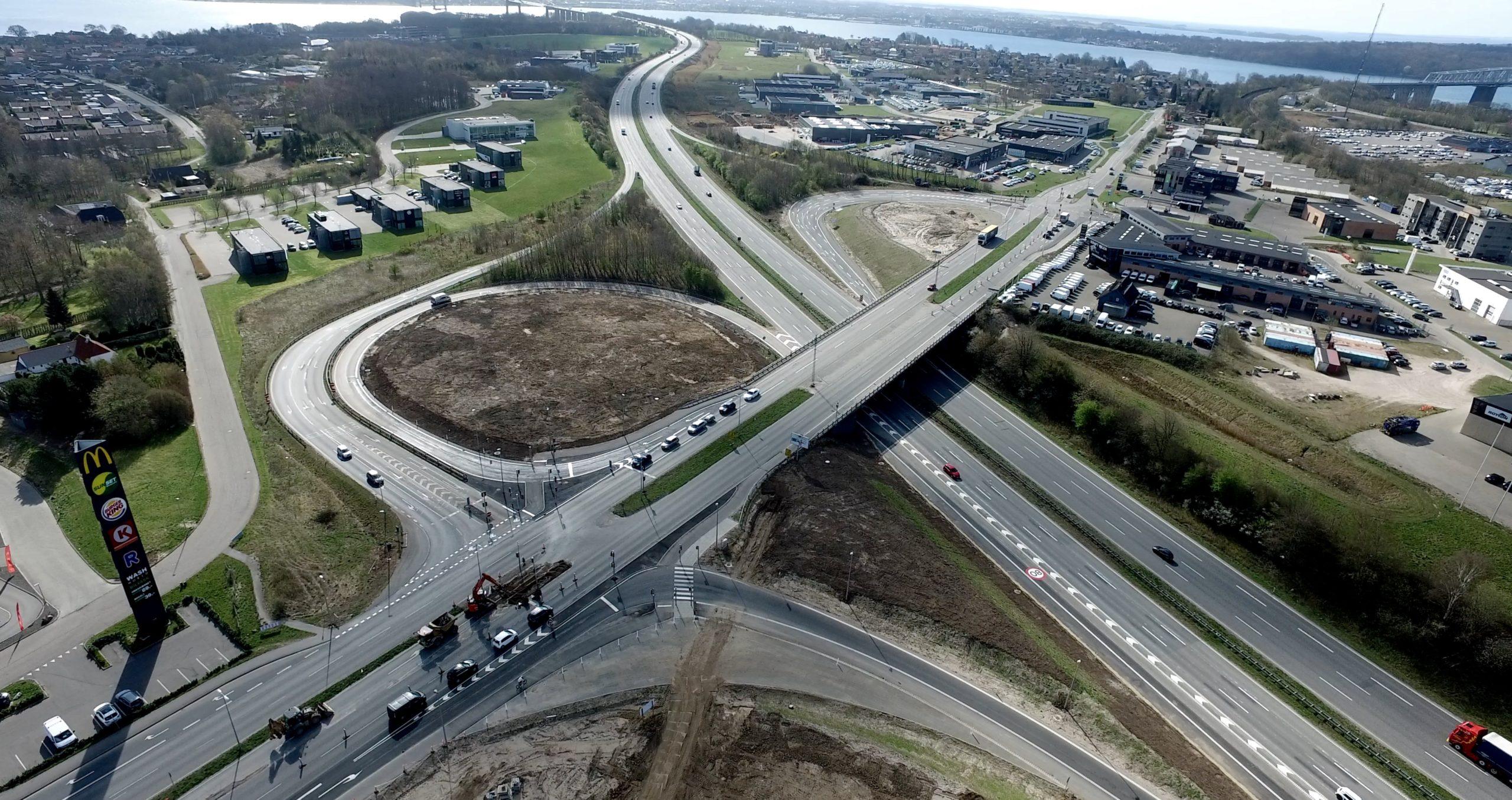 Trafikale udfordringer: Tilkørsel mod fyn spærret i de næste to måneder
