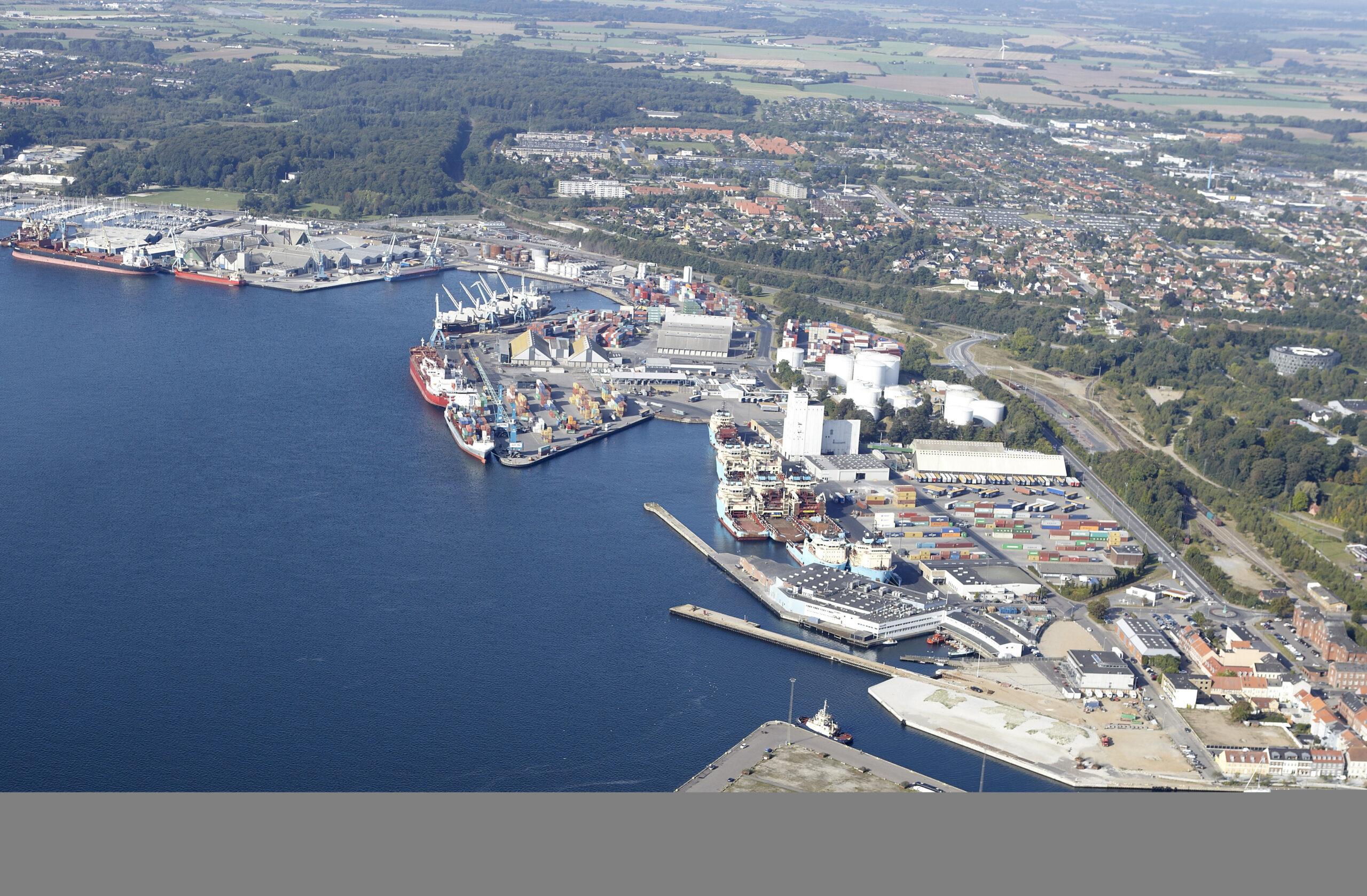 GC Rieber Salt A/S forlænger aftale på Fredericia Havn