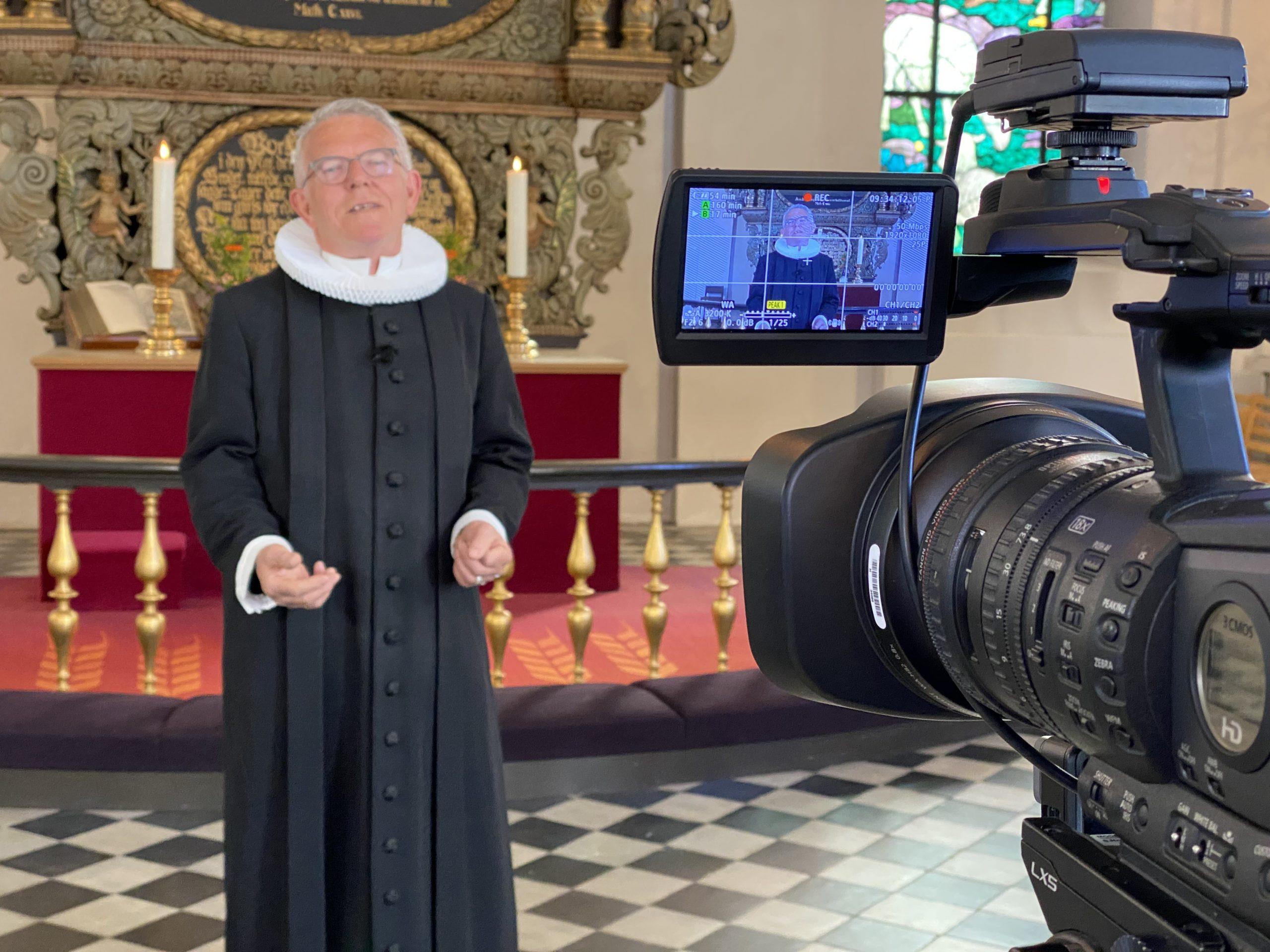 TV-GUDSTJENESTE: Kom med   til gudstjeneste i Trinitatis kirke