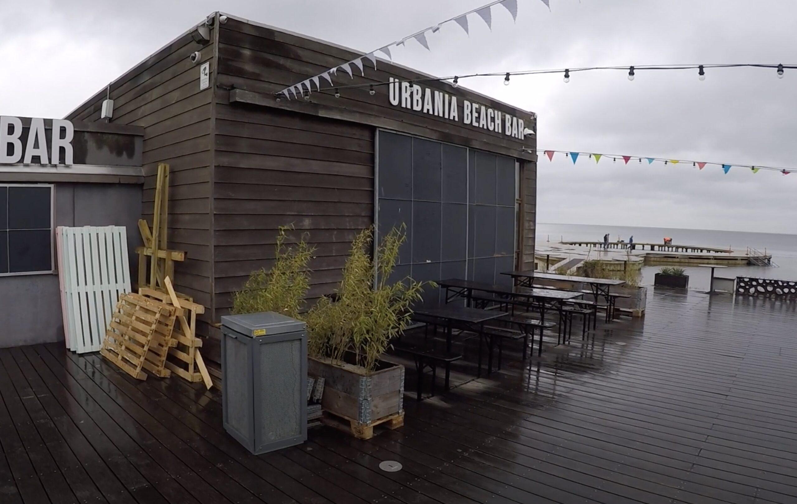 Urbania Beach Bar er åben
