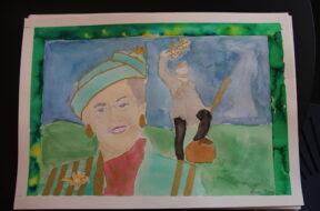 Fredericias børnebidrag til gaven til Dronningen