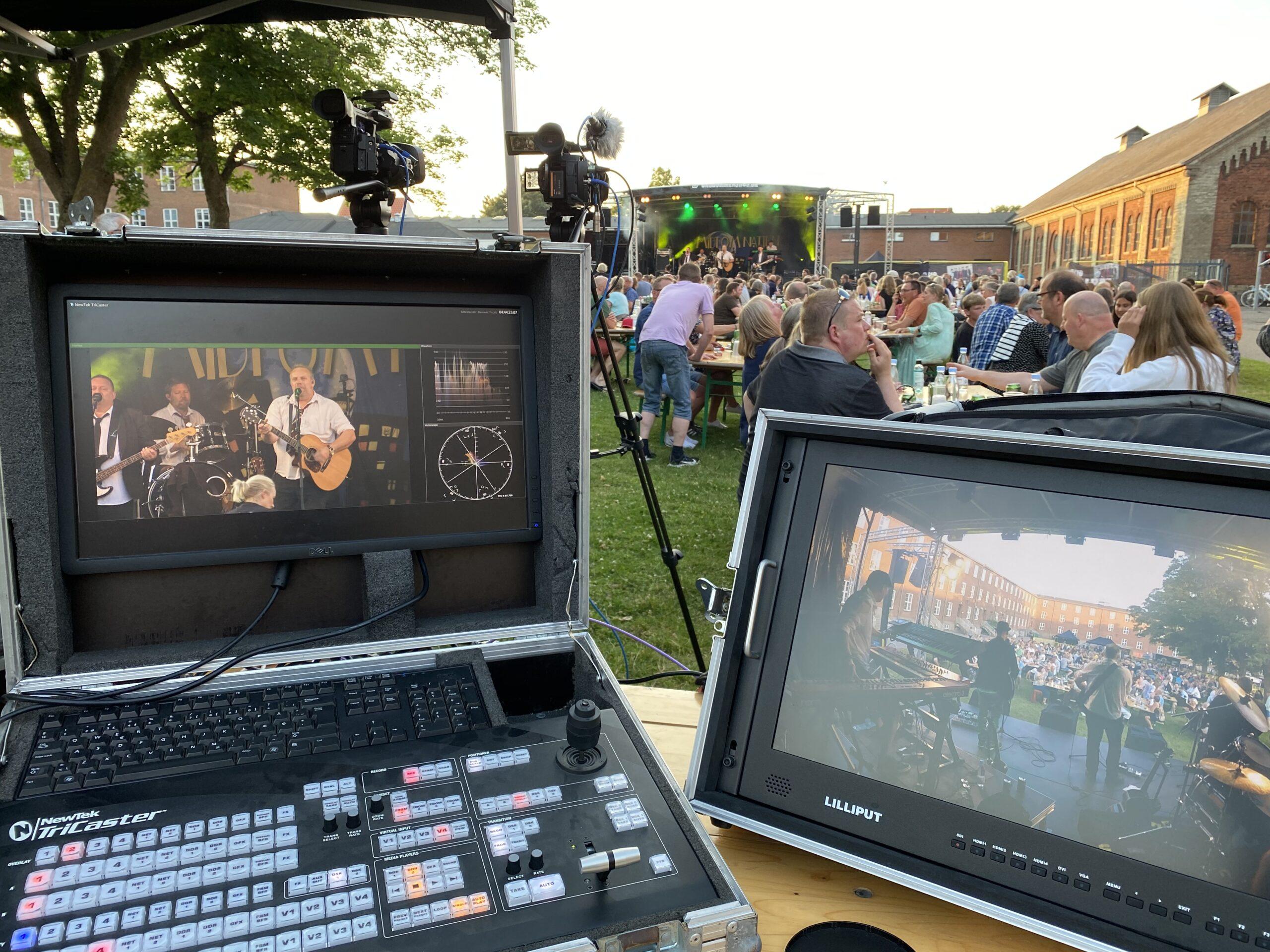 Sommeren byder på flere koncerter i gården – på Bülows kaserne