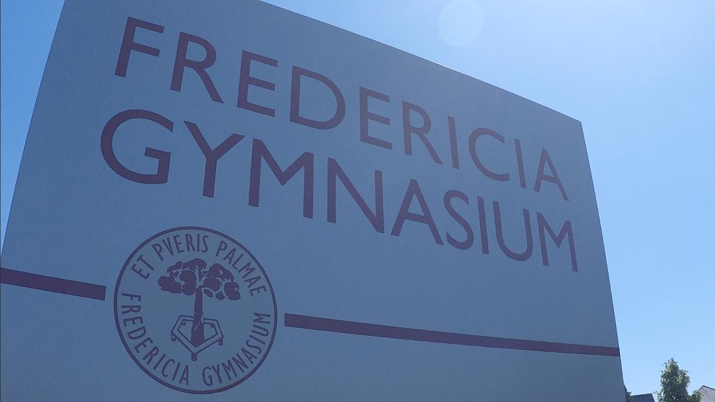 Fredericia Gymnasium lukket mandag