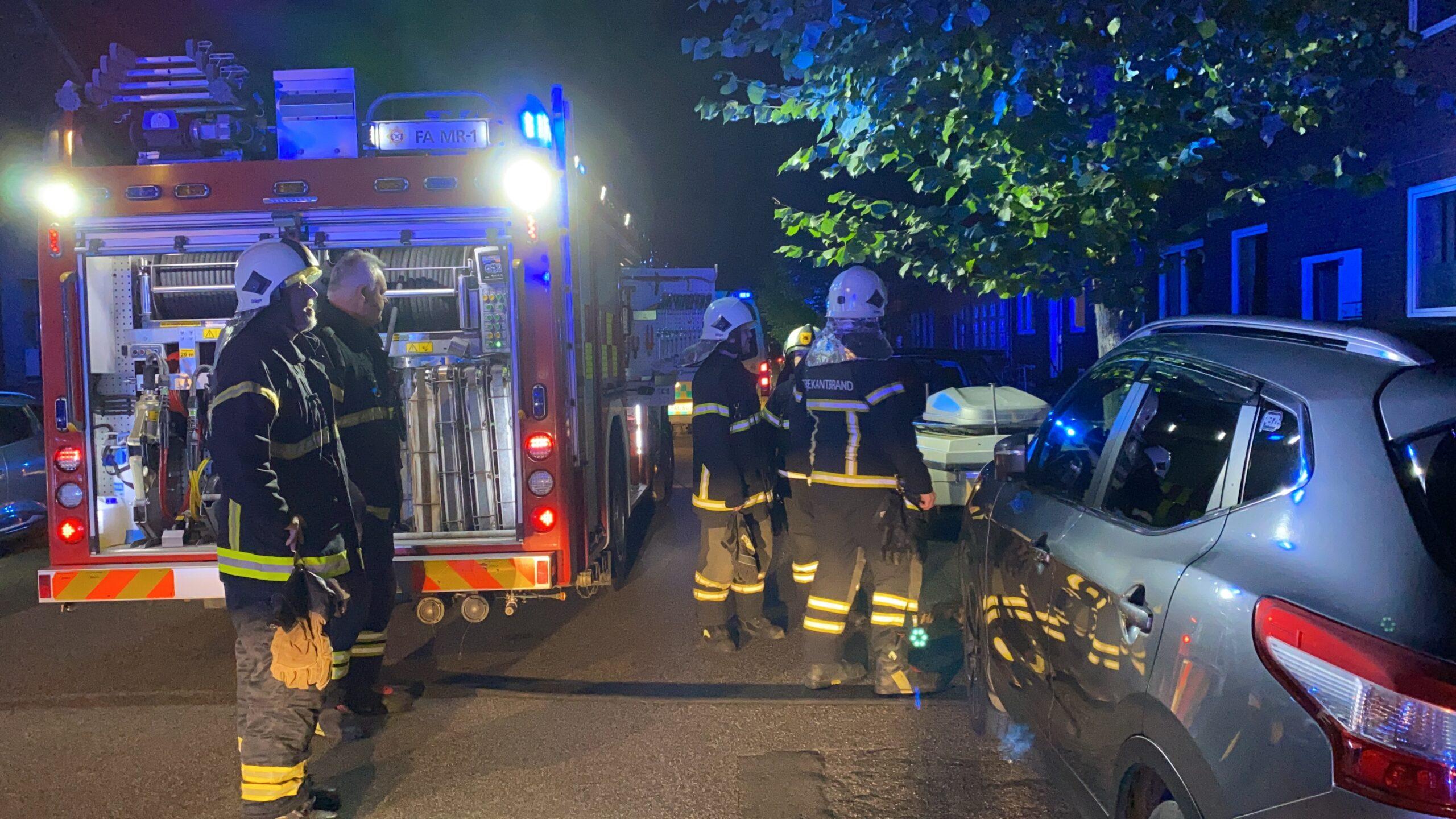 Se video: Røg i lejlighed i Kongensgade