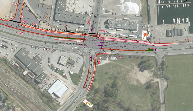 Nu går ombygning af Strandvejs-kryds i gang