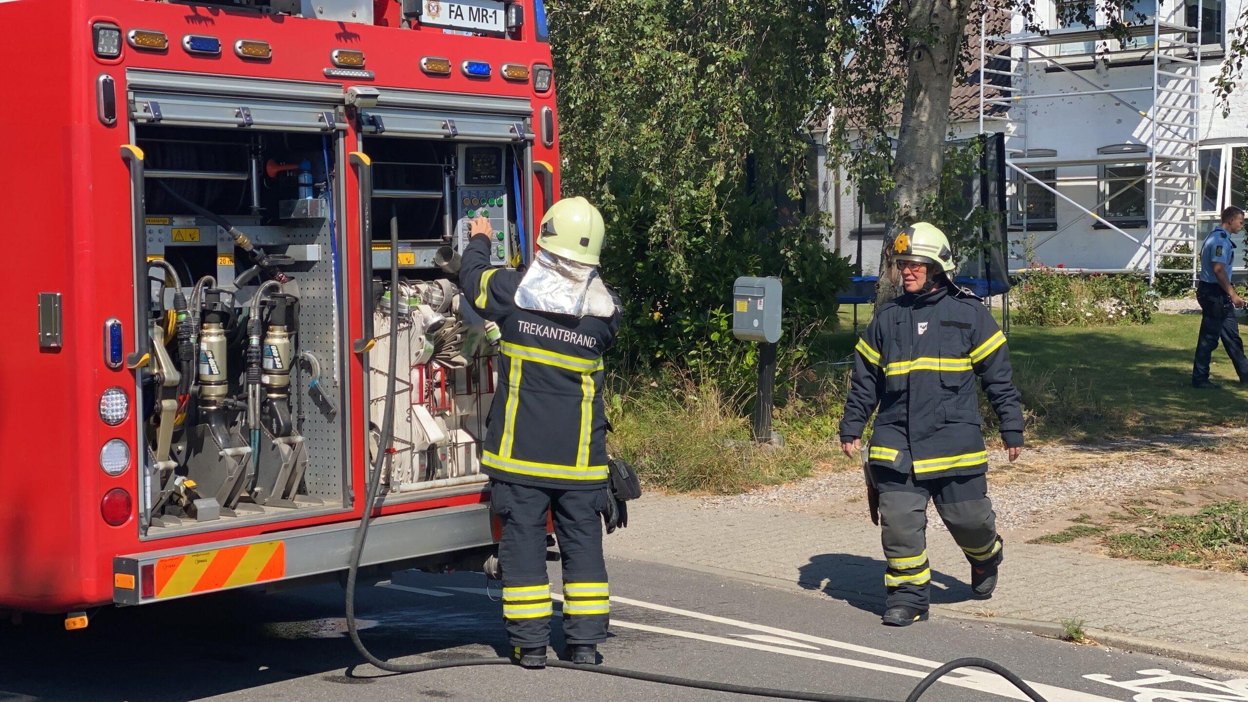 Se video: Røglugt i villa på Erritsø Bygade