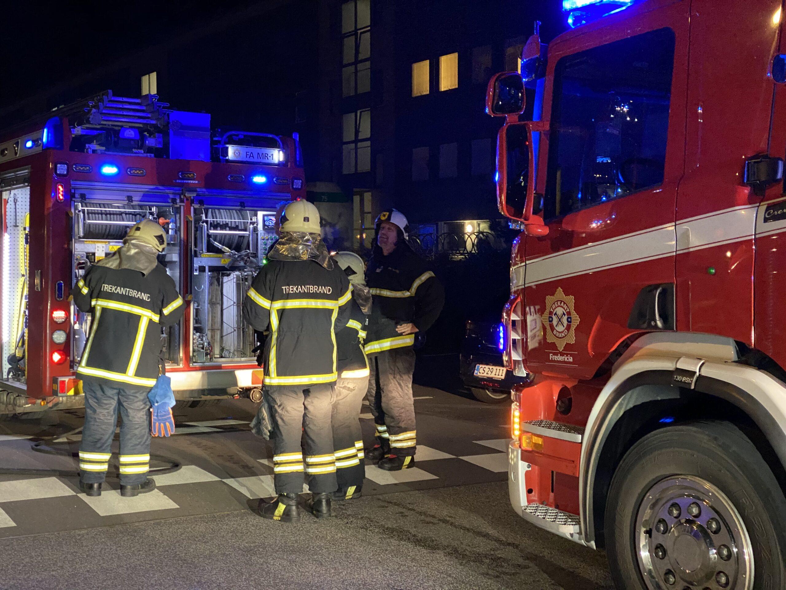 Ild i lejlighed på Ullerupdalvej