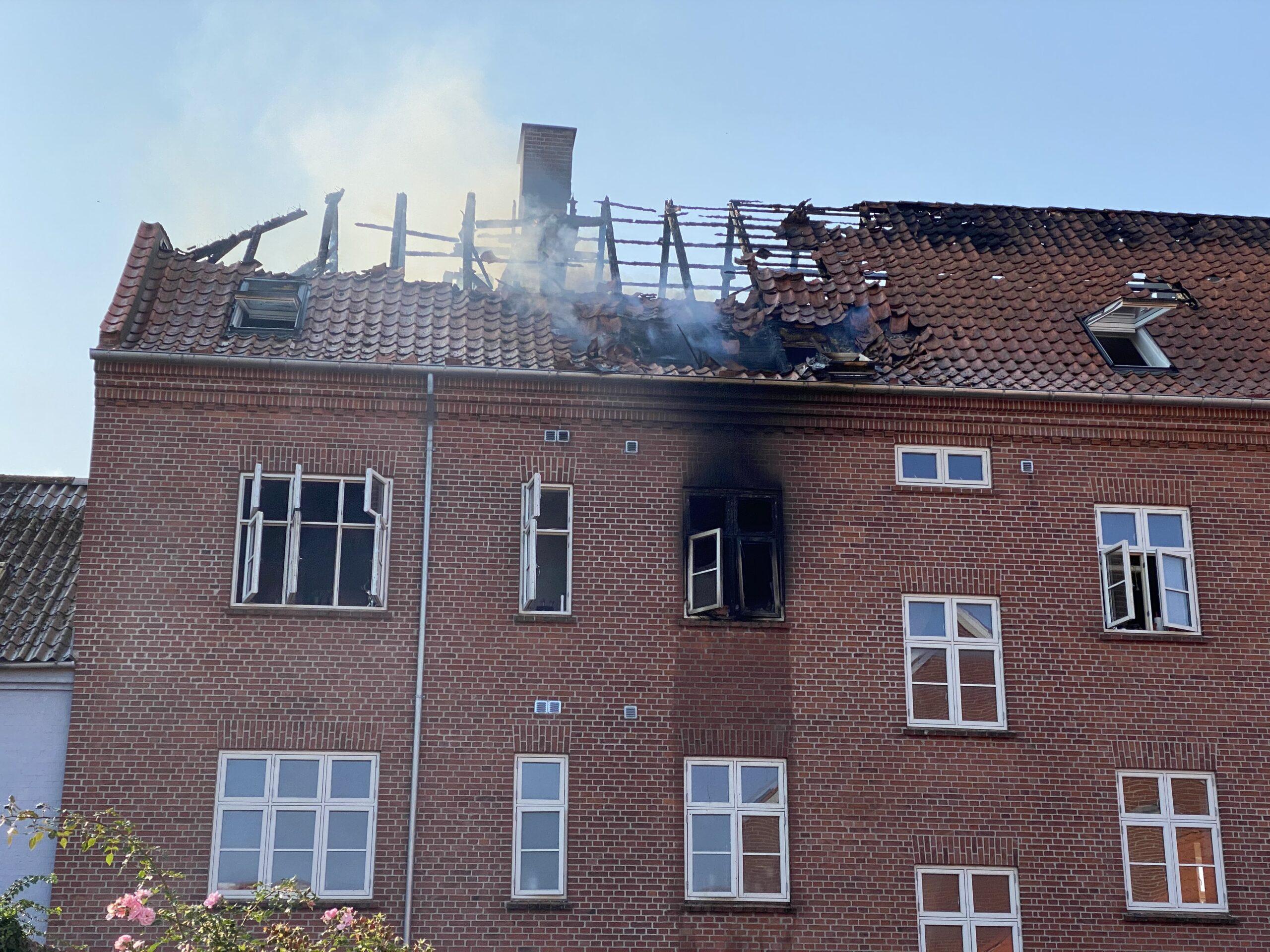 Brand i Jyllandsgade: Indsatsleder fortæller om branden