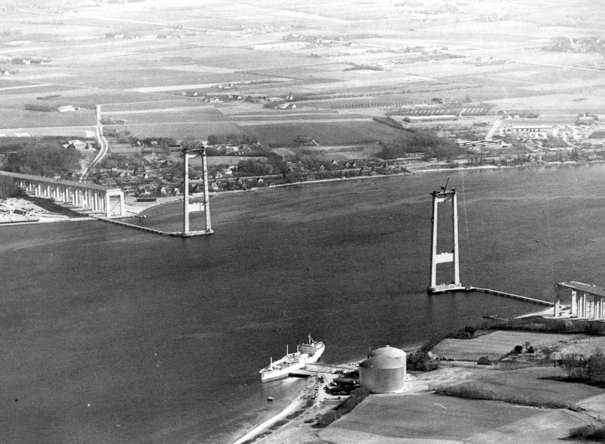 Den nye Lillebæltsbro fylder 50 år i dag