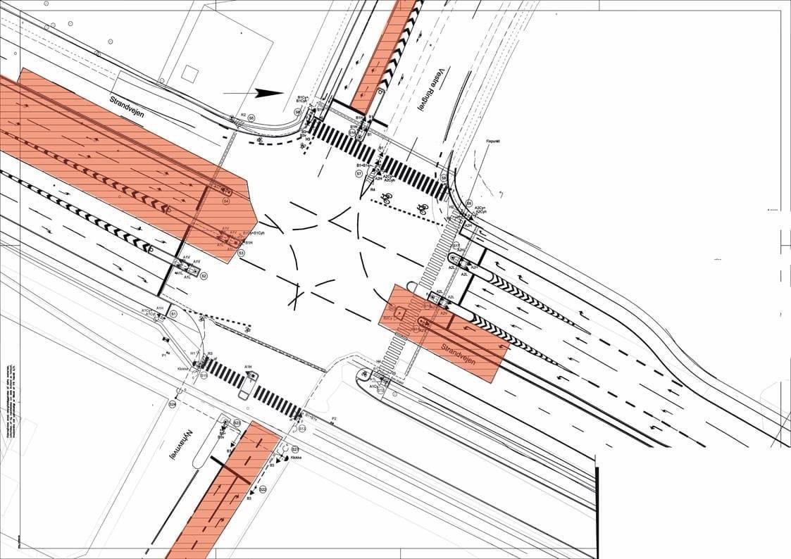 Trafik: Godt nyt til trafikanter på Strandvejen