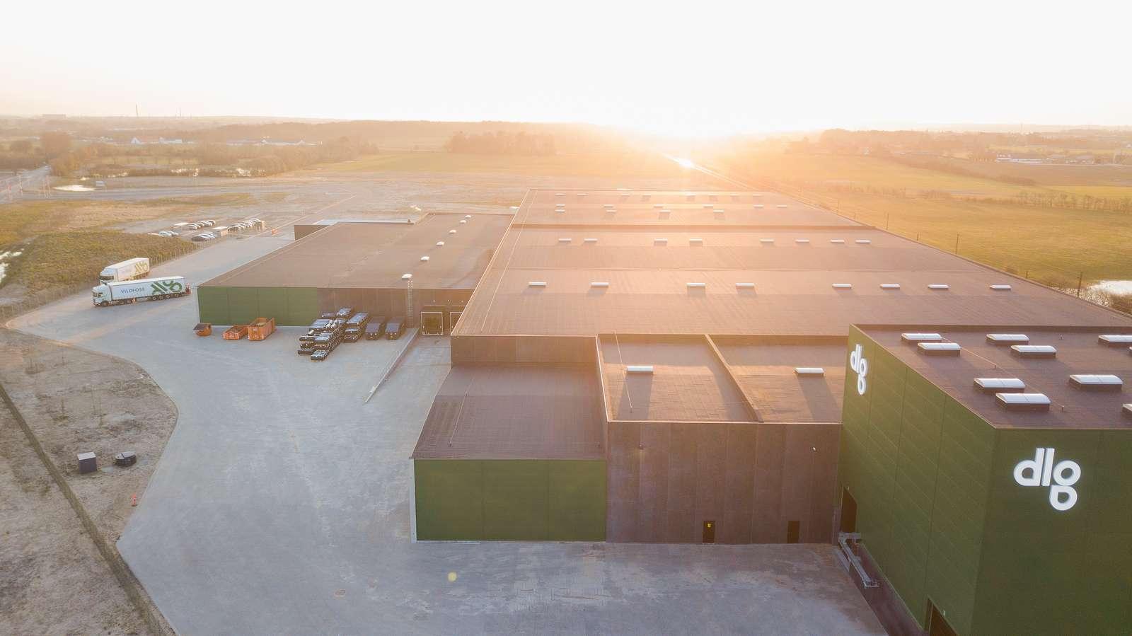 DLG´s logistikcenter i Taulov servicerer dansk landbrug