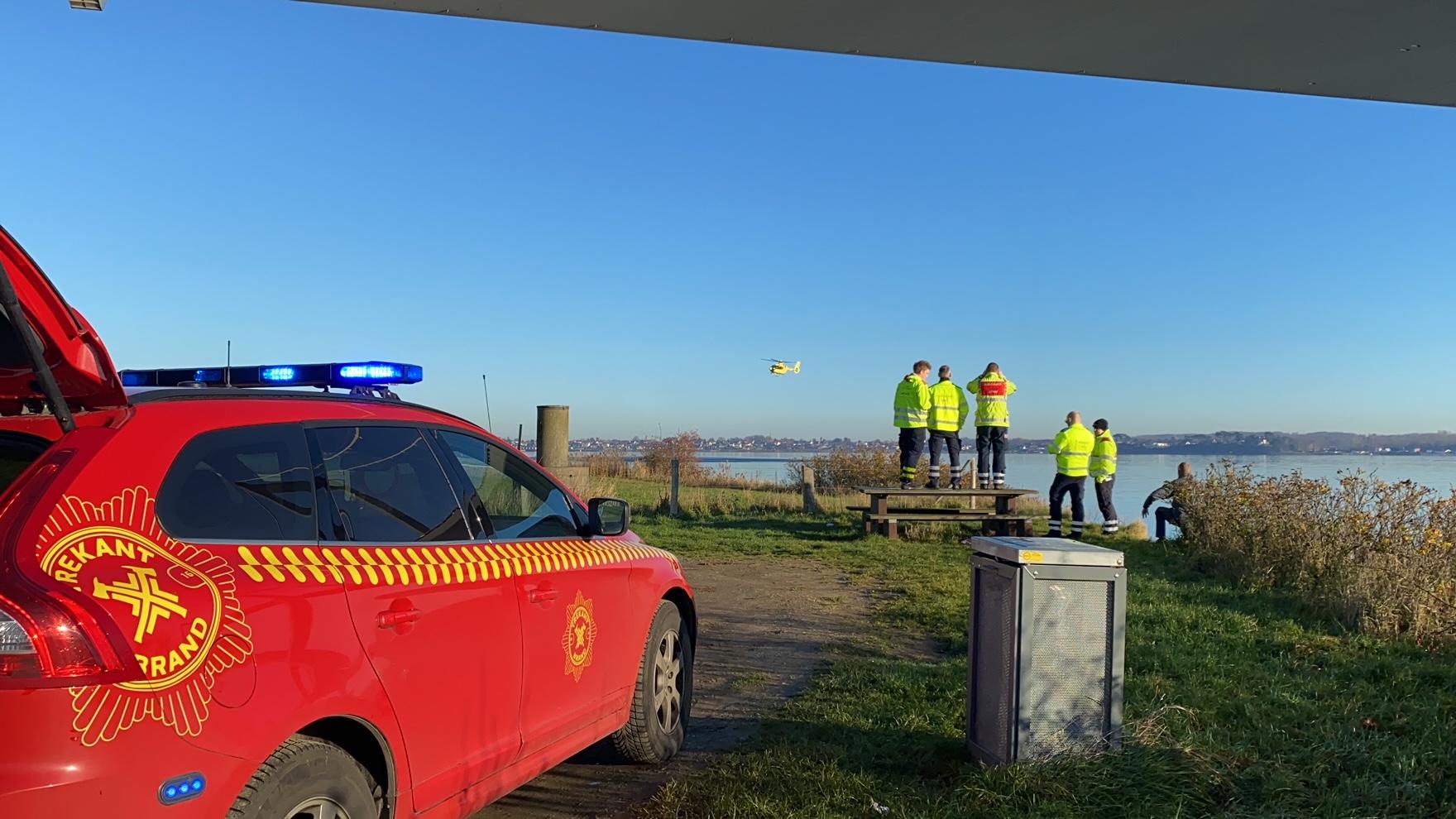 Melding om Drukneulykke ved Den Nye Lillebæltsbro