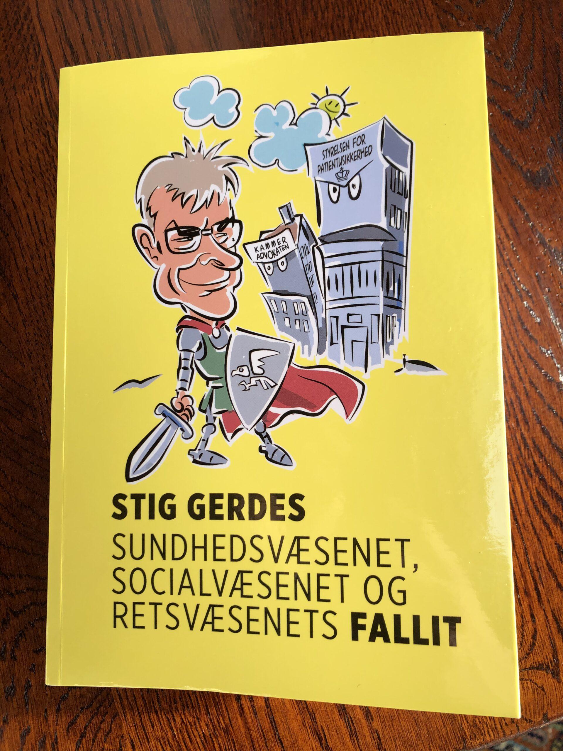 Stig Gerdes aktuel med ny, kritisk bog