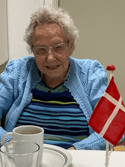 100-årig fejret på Hybyhus