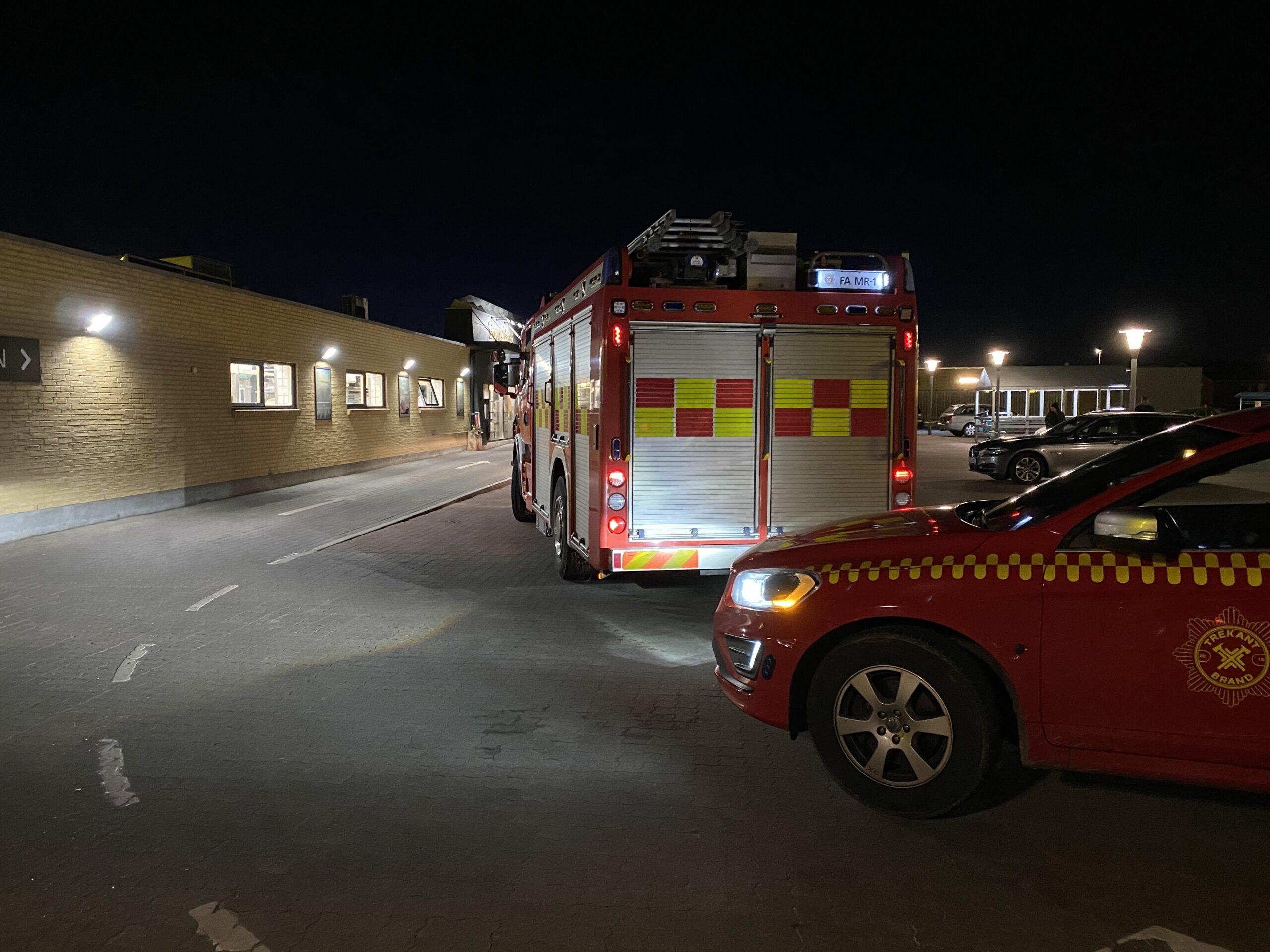 Brandvæsnet kaldt til røgudvikling hos Byens Brød i Erritsø