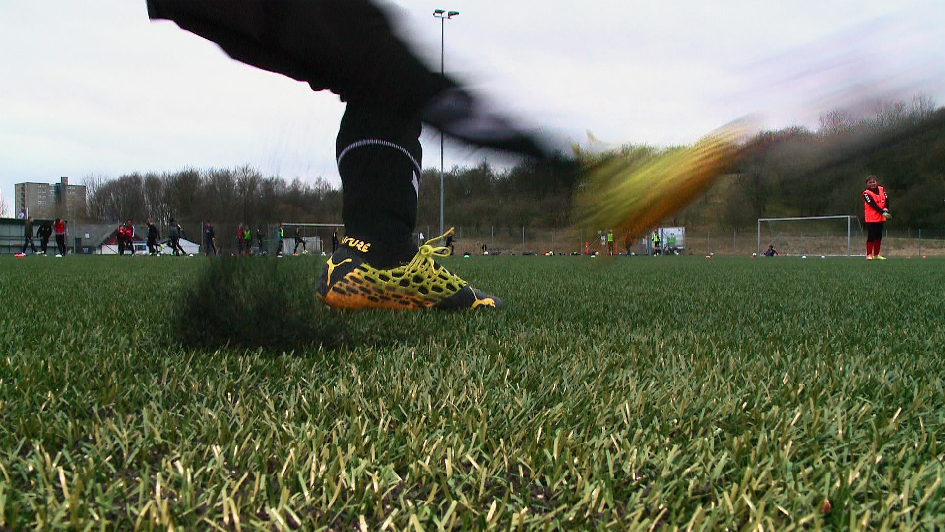 Nu er der fælles træning for U13 fodboldspillere