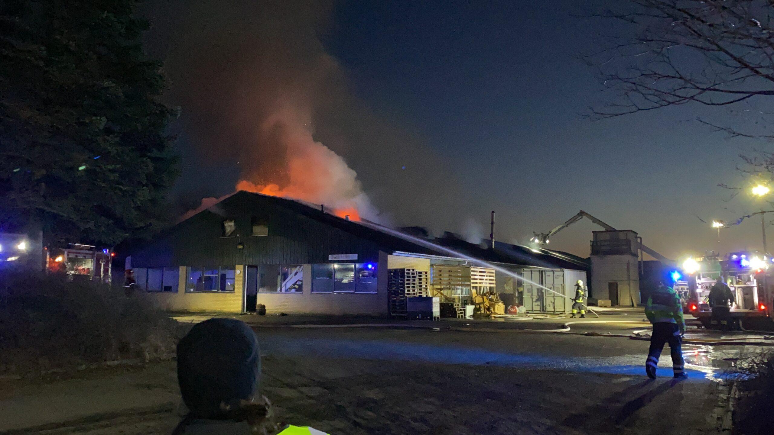 TV: Indsatsleder fortæller om branden på Nørrebrogade
