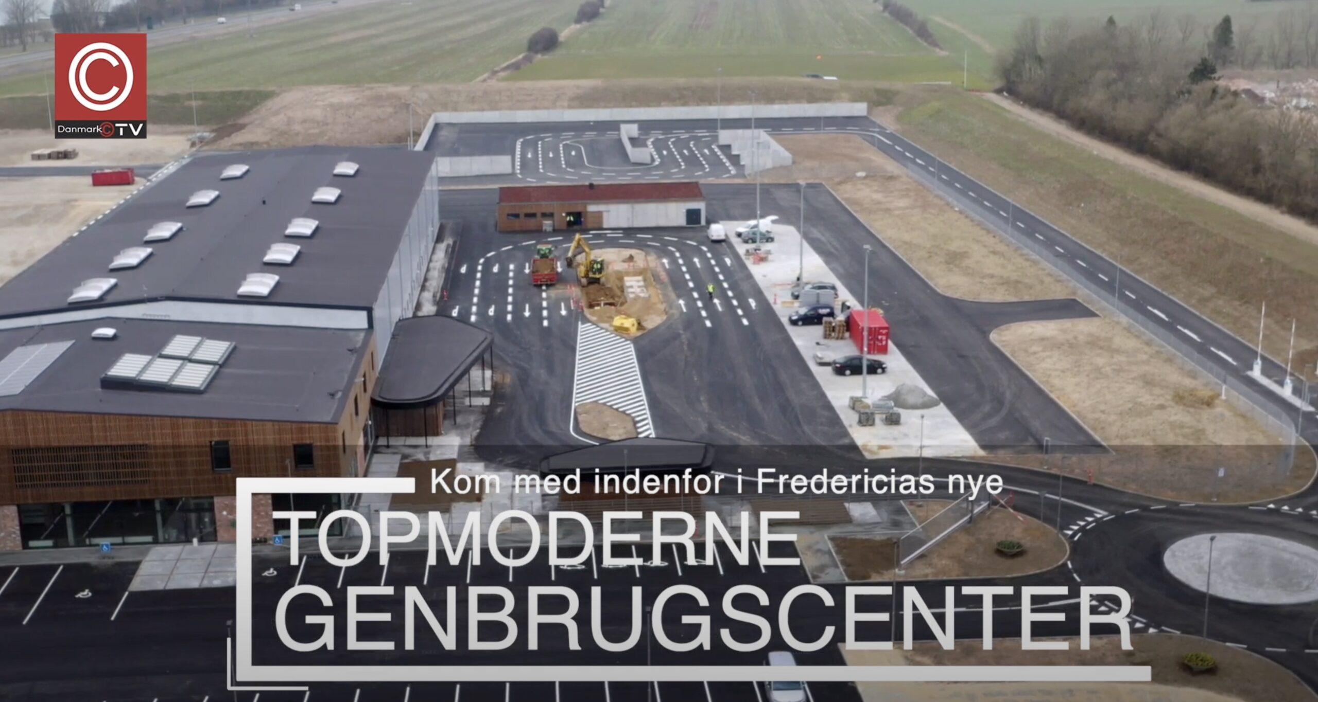TV-indslag: Skærtorsdag åbner Fredericias nye TOPMODERNE genbrugscenter